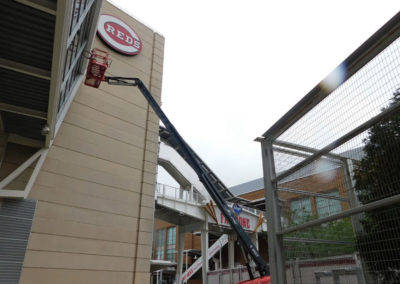 Cincinnati Reds Window Cleaning