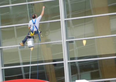 Cinciannti Hi-Rise Window Cleaning at Reds Field