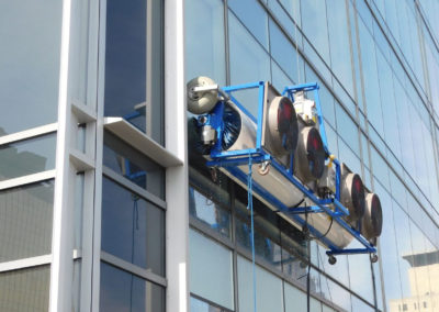 Robotic Window Cleaning Machine at Work