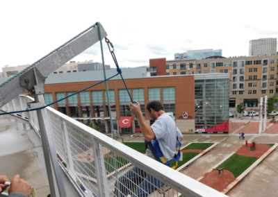 Suspended Window Cleaning