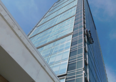 Robot Skyscraper Window Cleaning