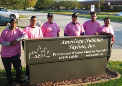 October is Breast Cancer Awareness month, and we are recognizing it by wearing pink shirts. Looking good, guys! We will also donate a portion (at least $20,000) of our October billing to assist cancer organizations in our local communities.