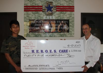 ANSI St. Louis Office Supports National Military Appreciation Month