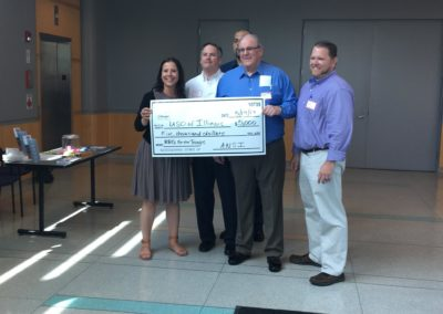 American National Skyline, Inc. donates $5,000 for the USO BBQ for the Troops Initiative!